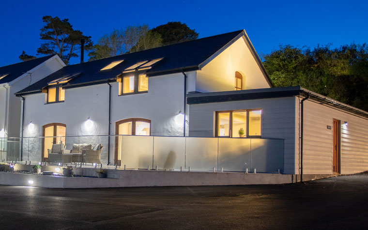 Lucury holiday rental with sea views