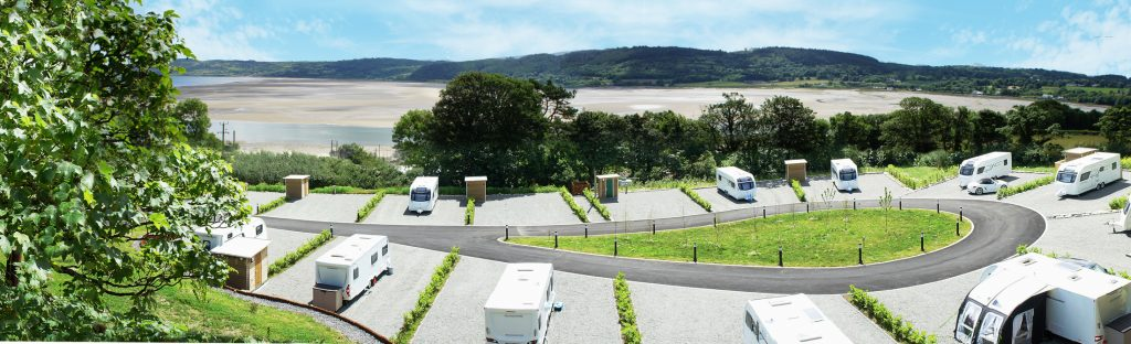 seasonal touring site Anglesey