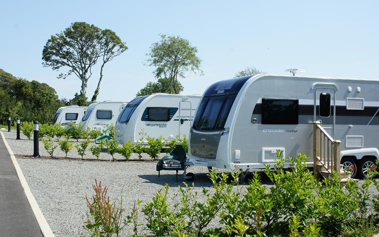 touring caravan site Anglesey