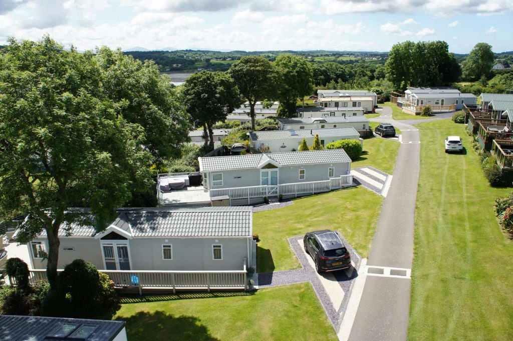 Static Caravan Site on Anglesey