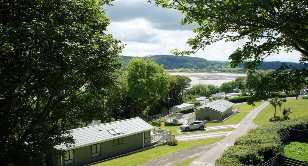 Lodge site on Anglesey