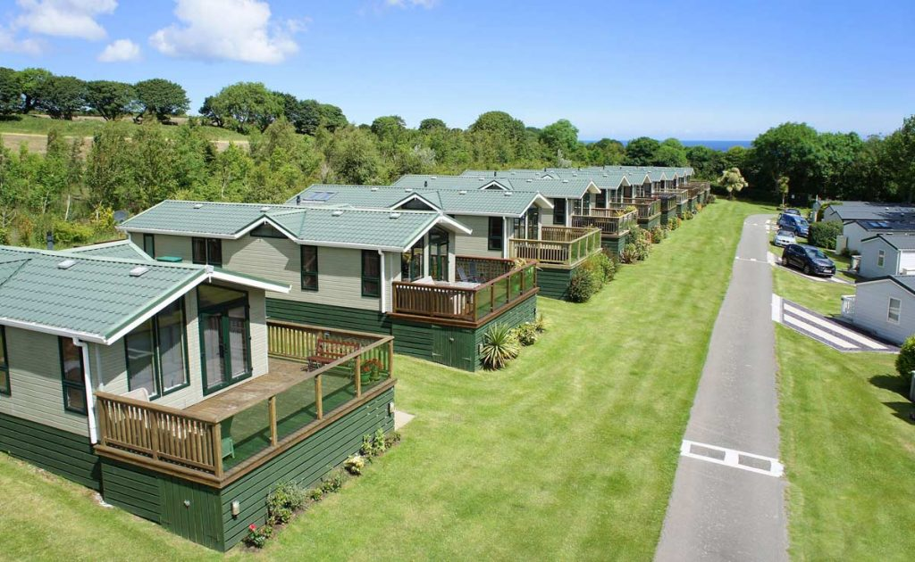 Luxury lodges on Anglesey
